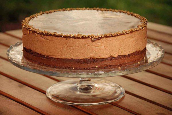 Csoki mousse torta
