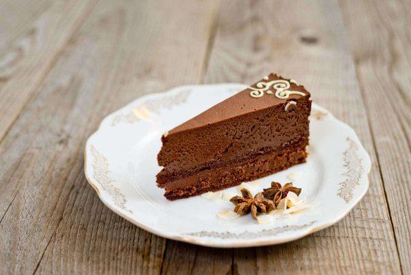 Csokoládé mousse szelet