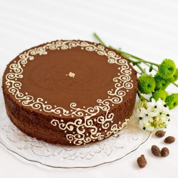 Csokoládés mousse torta