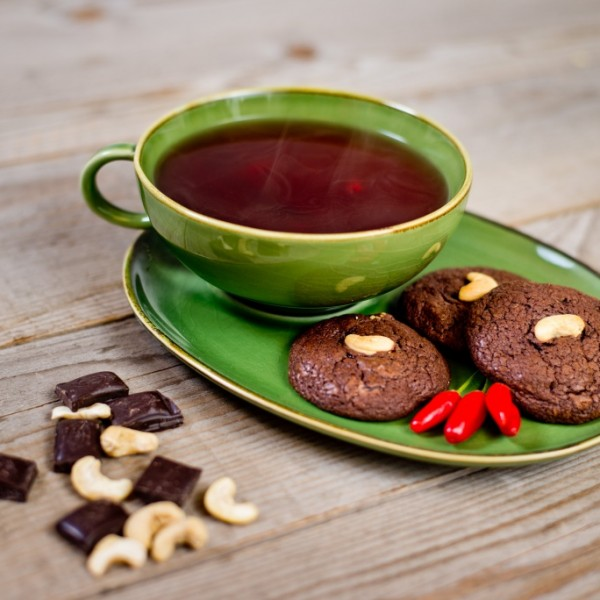Chilis csokis keksz