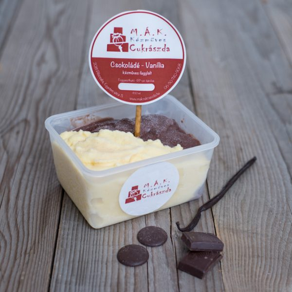 csokivanilia fagyi
