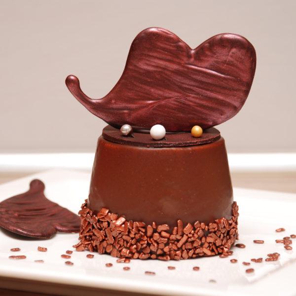 Kávélikőrös mousse mini torta