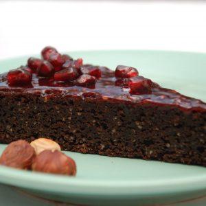 Paleo brownie szelet