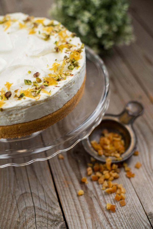 Citromos túró torta