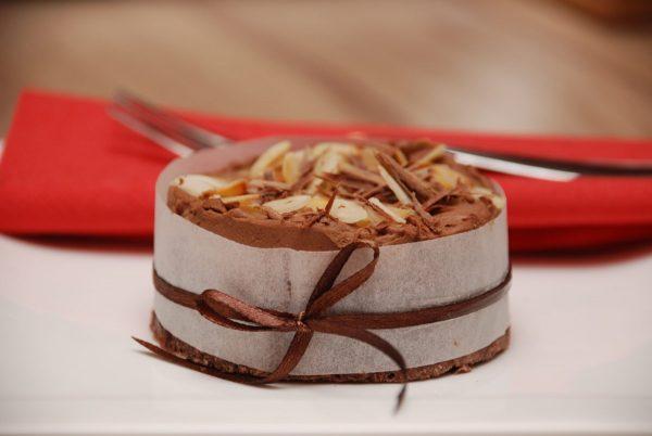 Gluténmentes csoki torta