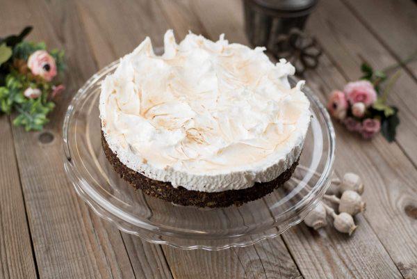 Paleo mákos-almás torta